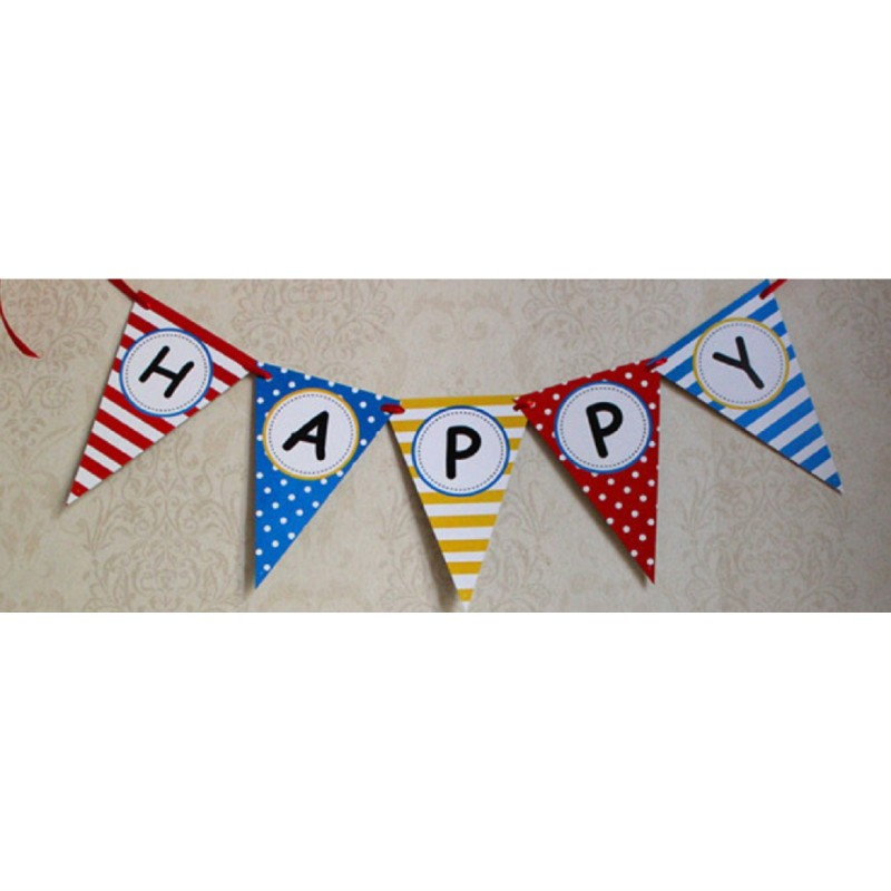 Suspension happy birthday