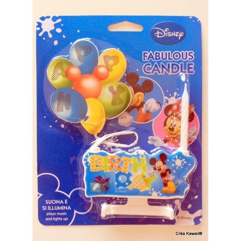 Bougies Anniversaire Disney
