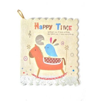 "Carte cadeau illustrée ""Happy time"""