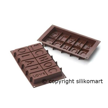 "Moule pour chocolat "" Easy Choc Chocolat Love"""