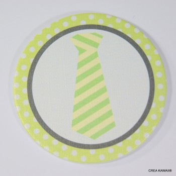 """""""Toppers"""" décoratifs pour cupcakes - cravate"""