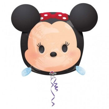 Ballon Métallique Minnie Tsum Tsum 48 cm