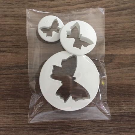 Emportes pièces papillons