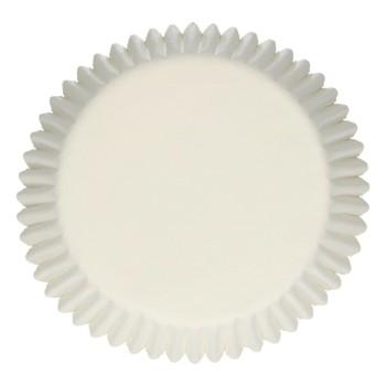 Caissettes à cupcakes blanches 500 pièces