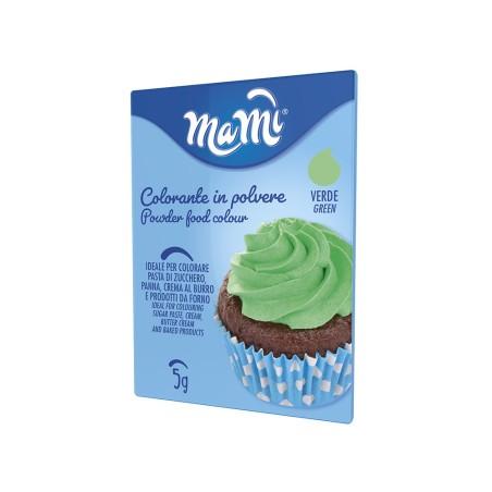 Colorant alimentaire en poudre 5 g - coloris vert