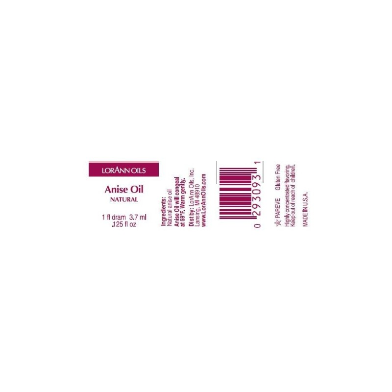 Arôme extra fort - Anis - 3.7 ml